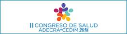 Inscripción al II Congreso de Salud Adecra+Cedim 2018