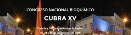 CONGRESO NACIONAL BIOQUÍMICO CUBRA XV
