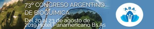 CONGRESO ARGENTINO DE BIOQUÍMICA